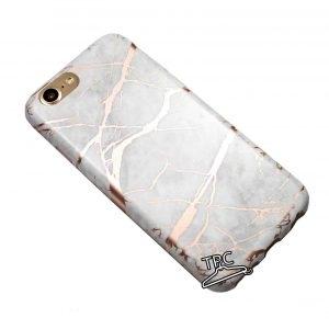 Husa marmura marble iPhone 7 / 8 White Rose