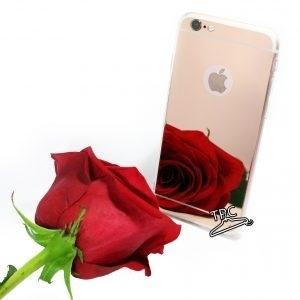 Husa tip oglinda iPhone 7 / 8 Plus Rose