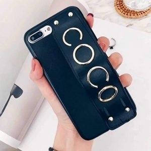 Husa grip Coco piele ecologica iPhone 6 / 6S Black