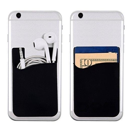 Suport universal pentru telefon Card Holder Black