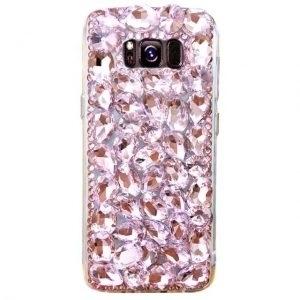 Husa cu cristale tip Swarovski Samsung Galaxy S8 Plus Rose