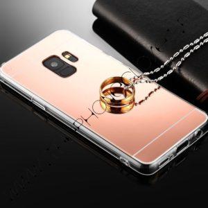 Husa tip oglinda Samsung Galaxy S9 Plus Rose
