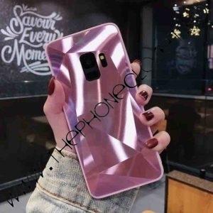 Husa Diamond Holografica Samsung S9 Plus Pink