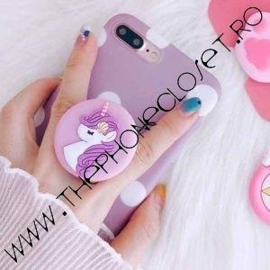 Suport de degete pe telefon Unicorn