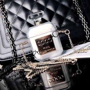 Husa de protectie pentru Airpods tip parfum Coco