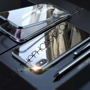 Husa 360 Magnetica iPhone X XS Sticla Black