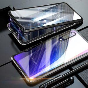 Husa 360 Magnetica Samsung A50 Sticla Black