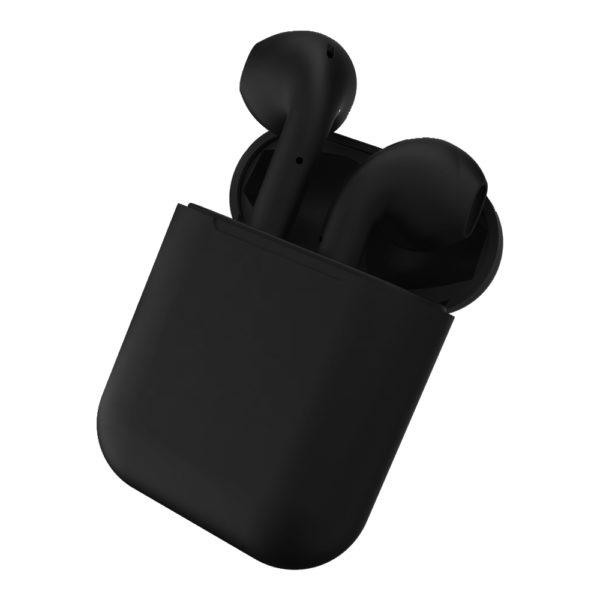 Casti fara fir prin Bluetooth, IOS si Android, Black