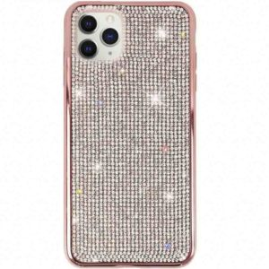 Husa cu Strasuri si Cristale iPhone 11 PRO MAX Rose