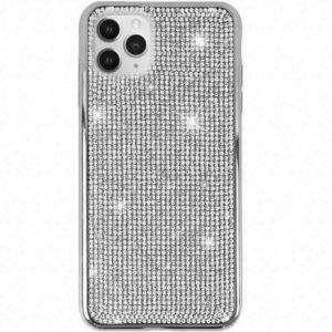 Husa cu Strasuri si Cristale iPhone 11 PRO Silver