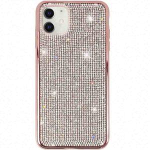 Husa cu Strasuri si Cristale iPhone 11 Rose
