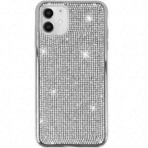 Husa cu Strasuri si Cristale iPhone 11 Silver