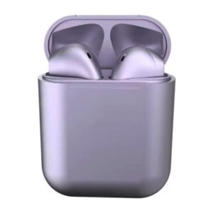 Casti Wireless in ear, Earpods Fitness, Lila