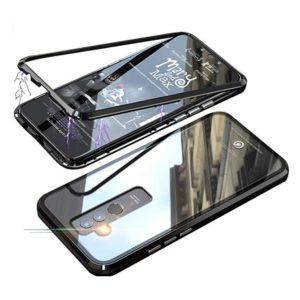 Husa 360 Magnetica Huawei MATE 20 LITE Sticla Black