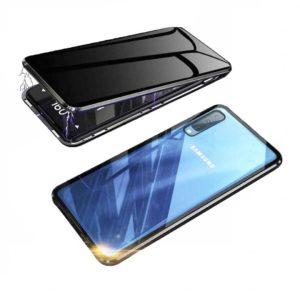 Husa 360 Magnetica Samsung A70 Sticla Black