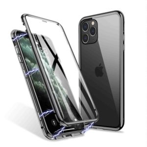 Husa 360 Magnetica iPhone 11 PRO MAX Sticla Black