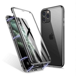 Husa 360 Magnetica iPhone 11 PRO Sticla Black