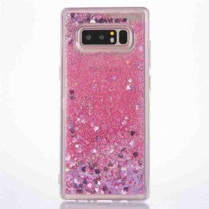 Husa cu apa si sclipici Samsung S10 Plus Roz