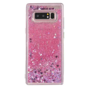 Husa cu apa si sclipici Samsung S10 Roz
