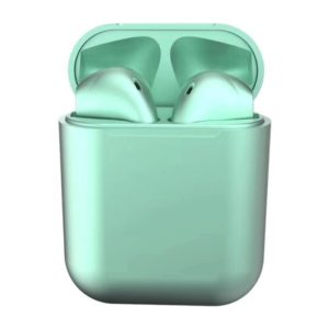 Casti Wireless in ear, Earpods Fitness, Green