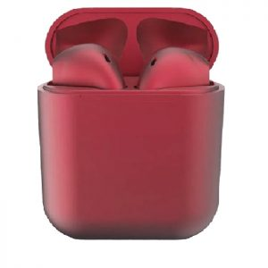 Casti fara fir tip Airpods, pentru IOS si Android, Red 1