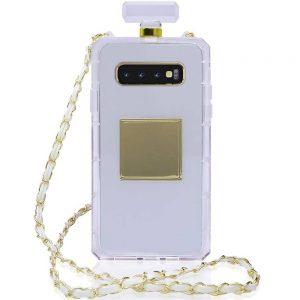 Husa cu Snur Lant Samsung S10 Plus, tip parfum
