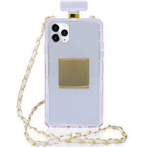 Husa cu Snur | Lant iPhone 11 PRO, sticluta parfum