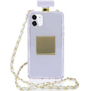 Husa cu Snur | Lant pentru iPhone 11, sticluta parfum
