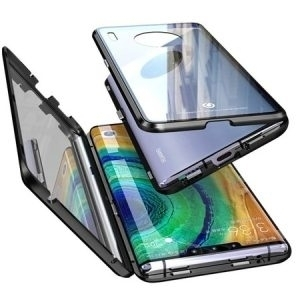 Husa 360 Magnetica Huawei Mate 30 PRO Sticla Black