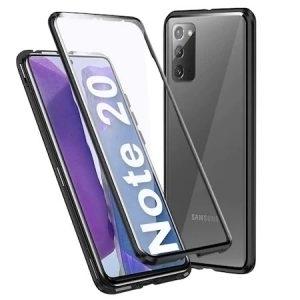 Husa 360 Magnetica Samsung Galaxy NOTE 20 Sticla Black