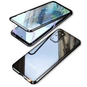 Husa 360 Magnetica Samsung Galaxy S20 Sticla Black