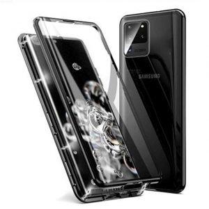 Husa 360 Magnetica Samsung Galaxy S20 ULTRA Sticla Black