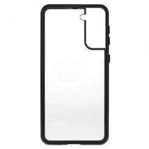 Husa 360 Magnetica Samsung Galaxy S21 Sticla Black