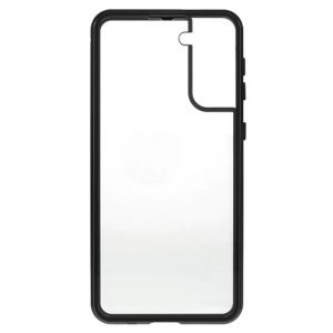 Husa 360 Magnetica Samsung Galaxy S21 PLUS Sticla Black
