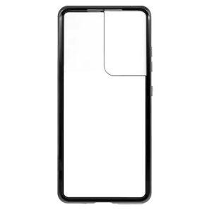 Husa 360 Magnetica Samsung Galaxy S21 ULTRA Sticla Black