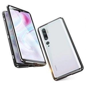 Husa 360 Magnetica Xiaomi Mi Note 10 Sticla Black