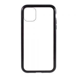 Husa 360 Magnetica iPhone 12 MINI Sticla Black