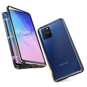 Husa 360 Magnetica Samsung Galaxy S10 Lite Sticla Black